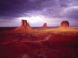 Storm Monument Valley UT \ AZ USA Photographic Print by Green Light Collection