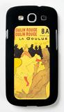 Moulin Rouge La Goulue Galaxy S III Case by Henri de Toulouse-Lautrec