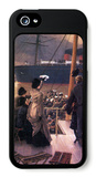Farewell to the Mersey iPhone 5 Case by James Tissot