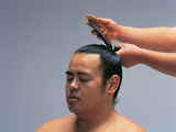 Sumo Wrestler Japan Photographie par Green Light Collection