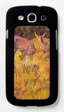 Deer in the Reed Galaxy S III Case by Franz Marc