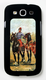 Groom with Two Horses Galaxy S III Case by Henri de Toulouse-Lautrec