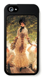 On the Thames iPhone 5 Case by James Tissot