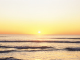 Sunset Over Sea Photographic Print by Green Light Collection