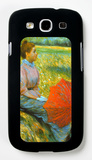 Lady in a Meadow Galaxy S III Case by Federico Zandomeneghi
