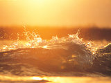 Water Splash with Backlit Photographic Print by Green Light Collection