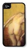 Woman Drying with Towel and Sponge iPhone 4/4S Case by Edgar Degas