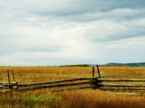 Fence at Grassland, Last Dollar Road, Telluride, Colorado, USA Photographic Print by Green Light Collection
