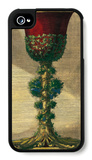 Red Goblet I iPhone 4/4S Case by Giovanni Giardini
