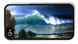 The Coast of the Turquoise Sea iPhone 4/4S Case by Albert Bierstadt