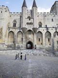 Palais De Papes, Place De L'Horloge, Avignon, Provence, France Photographic Print by Green Light Collection