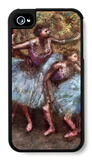 Four Dancers Behind the Scenes 1 iPhone 4/4S Case by Edgar Degas