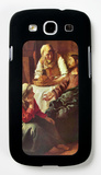 Christ with Mary and Martha Galaxy S III Case by Jan Vermeer