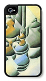 Still Life with Oil Lamp iPhone 4/4S Case by Juan Gris