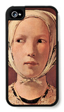 Woman's Head Frontally iPhone 4/4S Case by Georges de La Tour