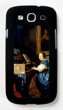 Dame on Spinet Galaxy S III Case by Jan Vermeer