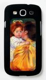 Maternal Kiss 1896 Galaxy S III Case by Mary Cassatt