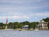 Town View From Haapsalu Bay, Haapsalu, Estonia Photographic Print by Green Light Collection