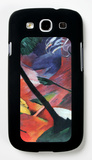 Deer in the Forest Ii Galaxy S III Case by Franz Marc