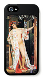 A Woman in Japan Bath iPhone 5 Case by James Tissot