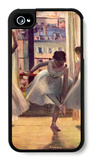 Three Dancers in a Practice Room iPhone 4/4S Case by Edgar Degas