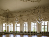 Ballroom of a Palace, Rundale Palace, Pilsrundale, Zemgale Region, Latvia Photographic Print by Green Light Collection