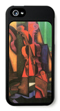 Violin and Guitar iPhone 5 Case by Juan Gris