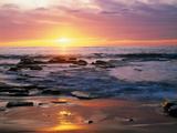 Seascape CA USA Photographic Print by Green Light Collection