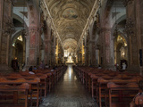 Interiors of Catedral Metropolitana, Plaza De Armas, Santiago, Chile Photographic Print by Green Light Collection