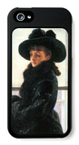 Portrait of Kathleen Newton iPhone 5 Case by James Tissot