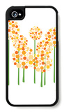 Orange Alliums iPhone 4/4S Case by  Avalisa