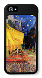 The Cafe Terrace on the Place Du Forum Arles at Night iPhone 5 Case by Vincent van Gogh