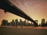 Brooklyn Bridge NY USA Photographic Print by Green Light Collection