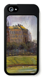 On the Danube Canal iPhone 5 Case by Richard Gerstl