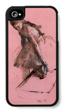 Dancer Slipping on Her Shoe iPhone 4/4S Case by Edgar Degas