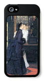 Young Women with Japanese Goods iPhone 5 Case by James Tissot
