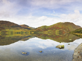 Reflection of a Hill in a Lake Photographic Print by Green Light Collection