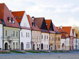 Buildings at a Town Square, Bardejov, Slovakia Photographic Print by Green Light Collection