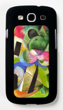 House with Trees Galaxy S III Case by Franz Marc