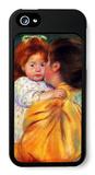 Maternal Kiss 1896 iPhone 5 Case by Mary Cassatt