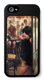 The Seller iPhone 5 Case by James Tissot