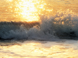 Sunlight Reflection And Splashing Water in Sea Photographic Print by Green Light Collection