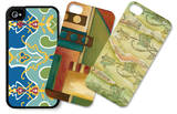 Whimsey iPhone 4/4S Case Set by Jennifer Goldberger