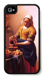Milk Maid iPhone 4/4S Case by Jan Vermeer