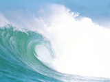 Huge Waves in Ocean Photographic Print by Green Light Collection