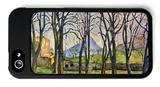 Chestnut Trees in Jas De Bouffan iPhone 5 Case by Paul Cézanne