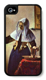 Young Woman with a Water Jug at the Window iPhone 4/4S Case by Jan Vermeer