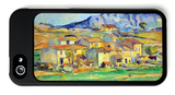 Montaigne Saintevictoire, from the Environment Beu Gardanne of View iPhone 5 Case by Paul Cézanne