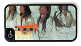 Four Indians iPhone 4/4S Case by Albert Bierstadt
