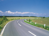 Empty Winding Highway Photographic Print by Green Light Collection